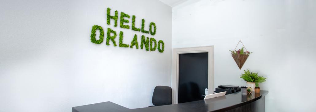Orlando Boutique Hotel entrance